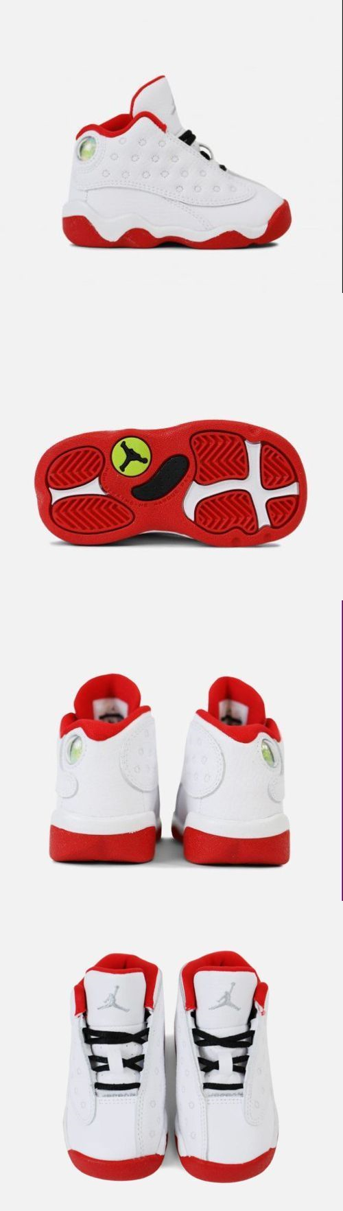2457e7b3a376 Infant Shoes  New Baby Air Jordan Retro 13 Toddler Shoes (414581-103) White  Mts-Univ Red -  BUY IT NOW ONLY   59.99 on eBay!