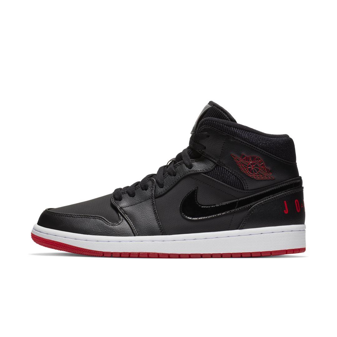 0128e05279a4 Air Jordan 1 Mid Premium Men s Shoe Size 12.5 (Black)