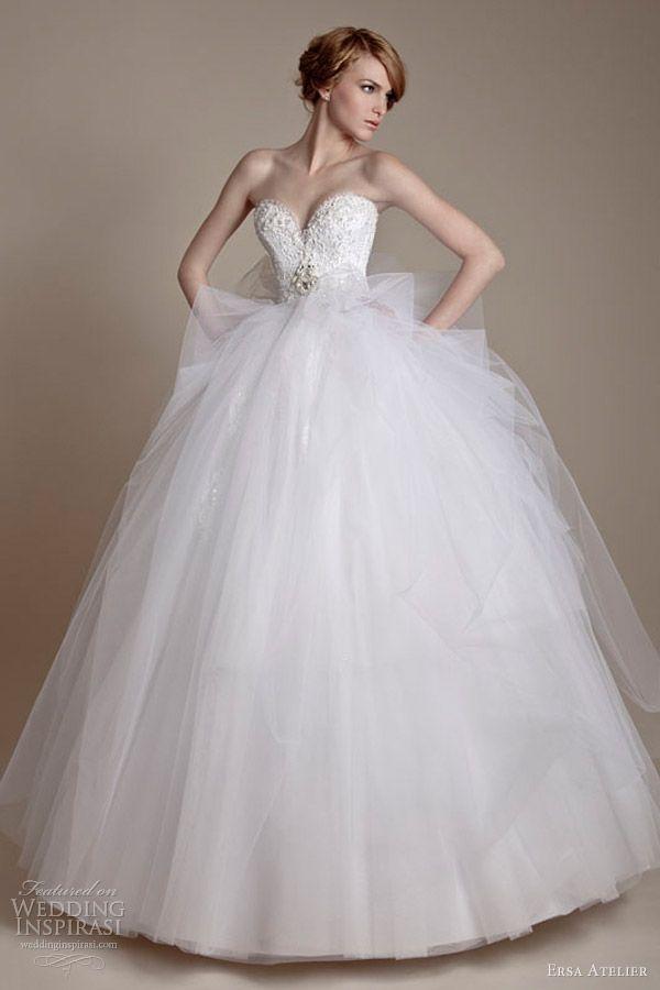 Ersa Atelier 2013 Wedding Dresses | Wedding dress 2013, Tulle balls ...