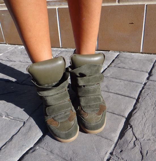 Sneakers Isabel Marant frotal