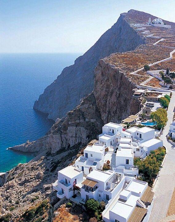 Folegandros in the Aegean Sea, Greece