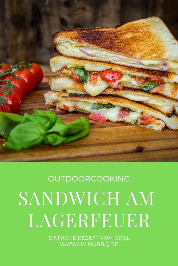 Sandwich from the campfire are cozy taste delicious and very quiet  Lieblingsrezepte  Gruppenboard by Kitchen Stories