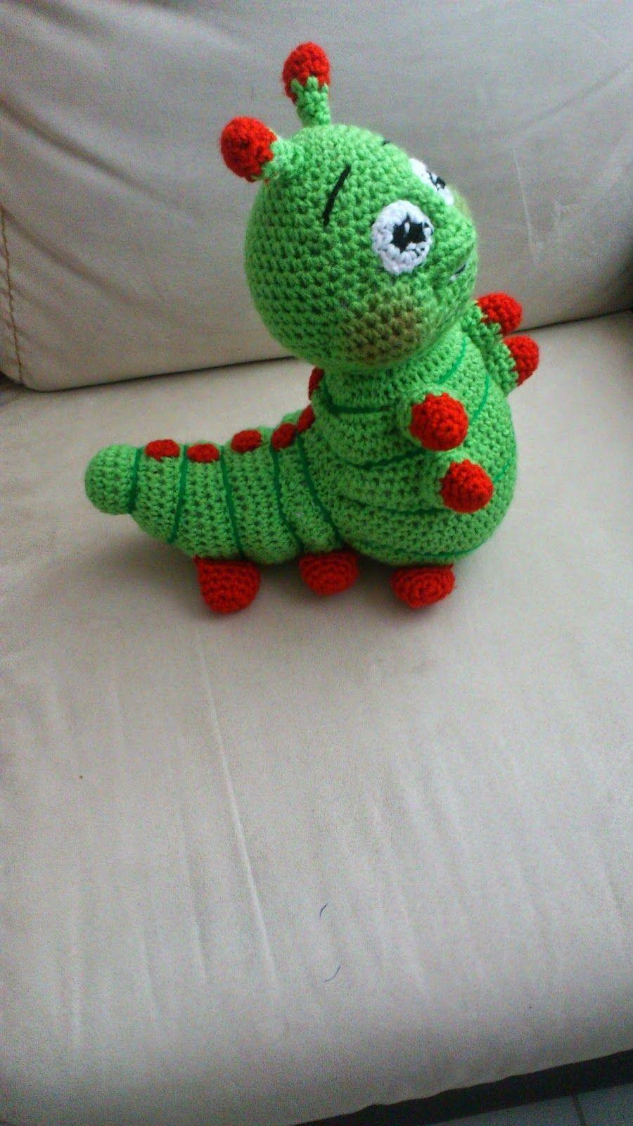 Gusano película Bichos - Patrón gratuito | Personajes a crochet ...