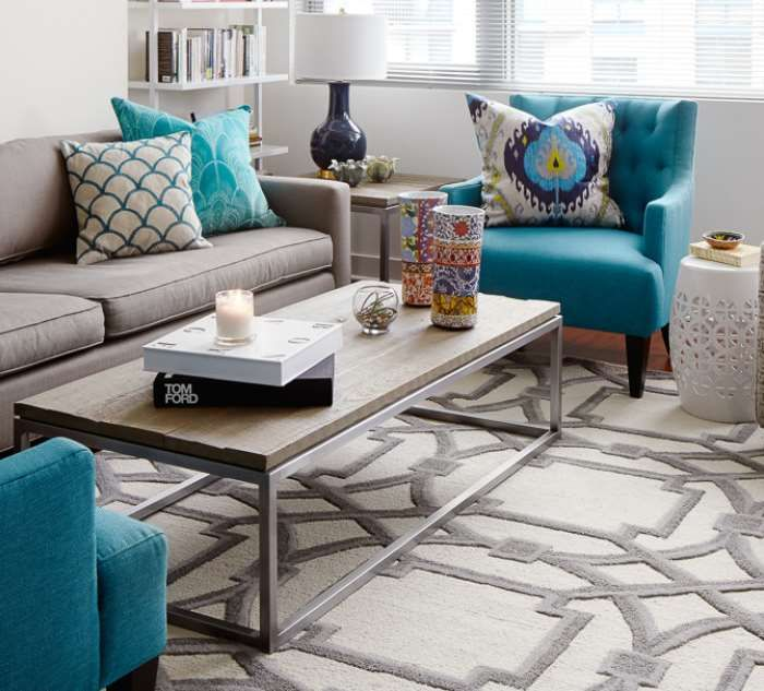 10+ Stunning Turquoise Living Room Decor Ideas