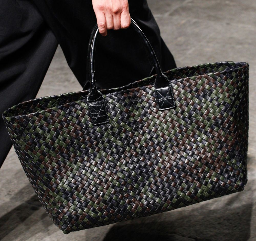 f4c28a91deca Bottega Veneta Spring 2017 Celebrated the Brand s 50th Anniversary with  Both Women s and Men s Bags
