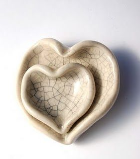 This nested pottery reminds me of the space we have in our hearts for those we call friends and family.