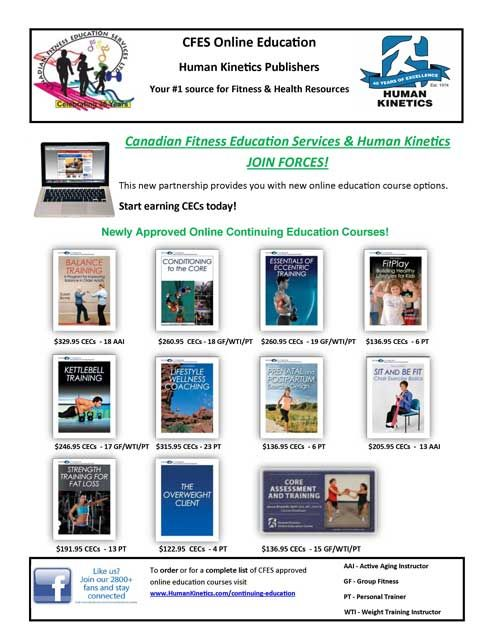 Human Kinetics Online CEC Courses and Workshops via CFES We\'re ...