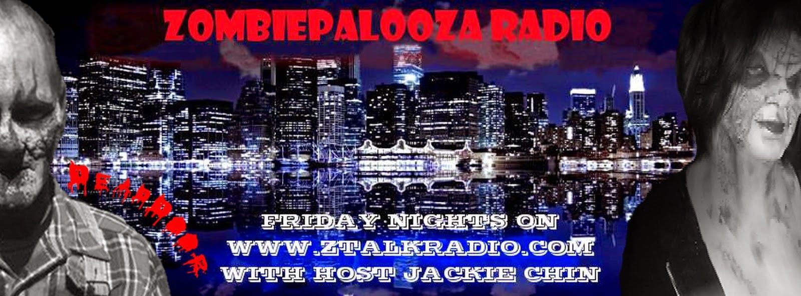 Zombob's Zombie News and Reviews: Tonight on Zombiepalooza Radio! 9/19/14