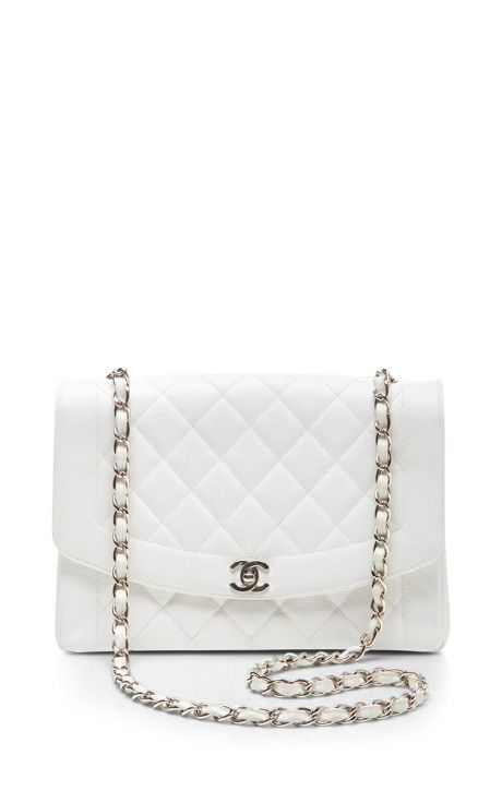 Chanel White Caviar Classic Flap Jumbo by What Goes Around Comes Around for  Preorder on Moda Operandi f0b9df05e6b1