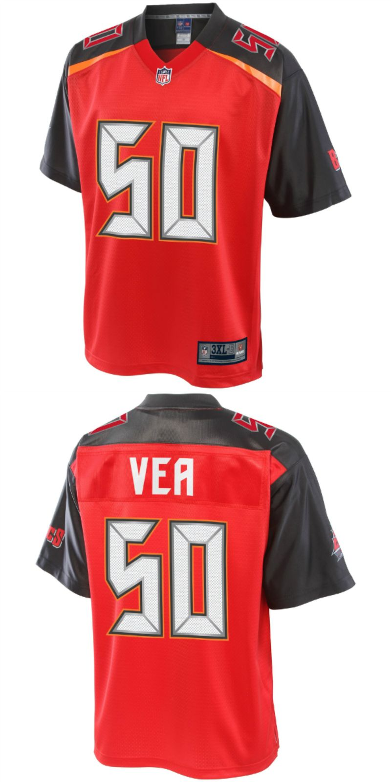 on sale 8fcfd ce194 UP TO 70% OFF. Vita Vea Tampa Bay Buccaneers NFL Pro Line ...