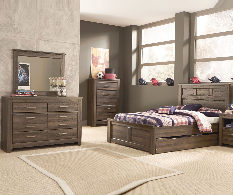 B251 Juararo Trundle Bed Boys full size trundle beds
