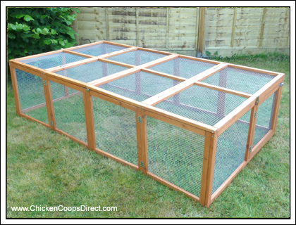 Folding chicken run chickens pinterest plants coops for Chicken run for 6 chickens