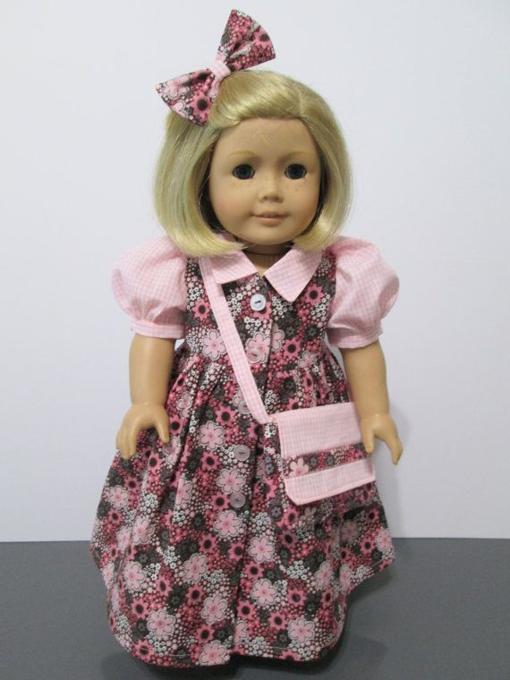 American Girl or 18 Inch Doll Clothes / 3pc. by stitchandstack, $23.00