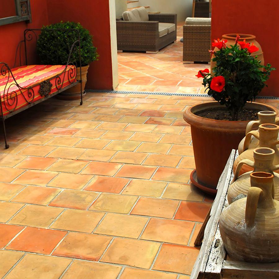 saltillo natural ceramic tile floor