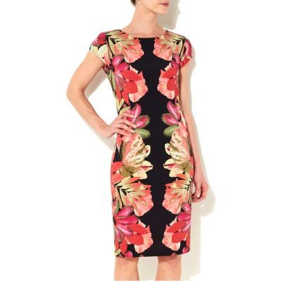 Wallis Floral printed dress- at Debenhams.com