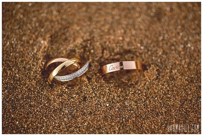 Rings In The Sand Maui Beach Wedding Karma Hill Photography