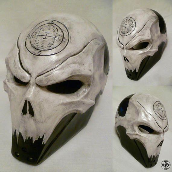 Inspired Abaddon Helmet Of Last Man Standing Halloween Mask Lms