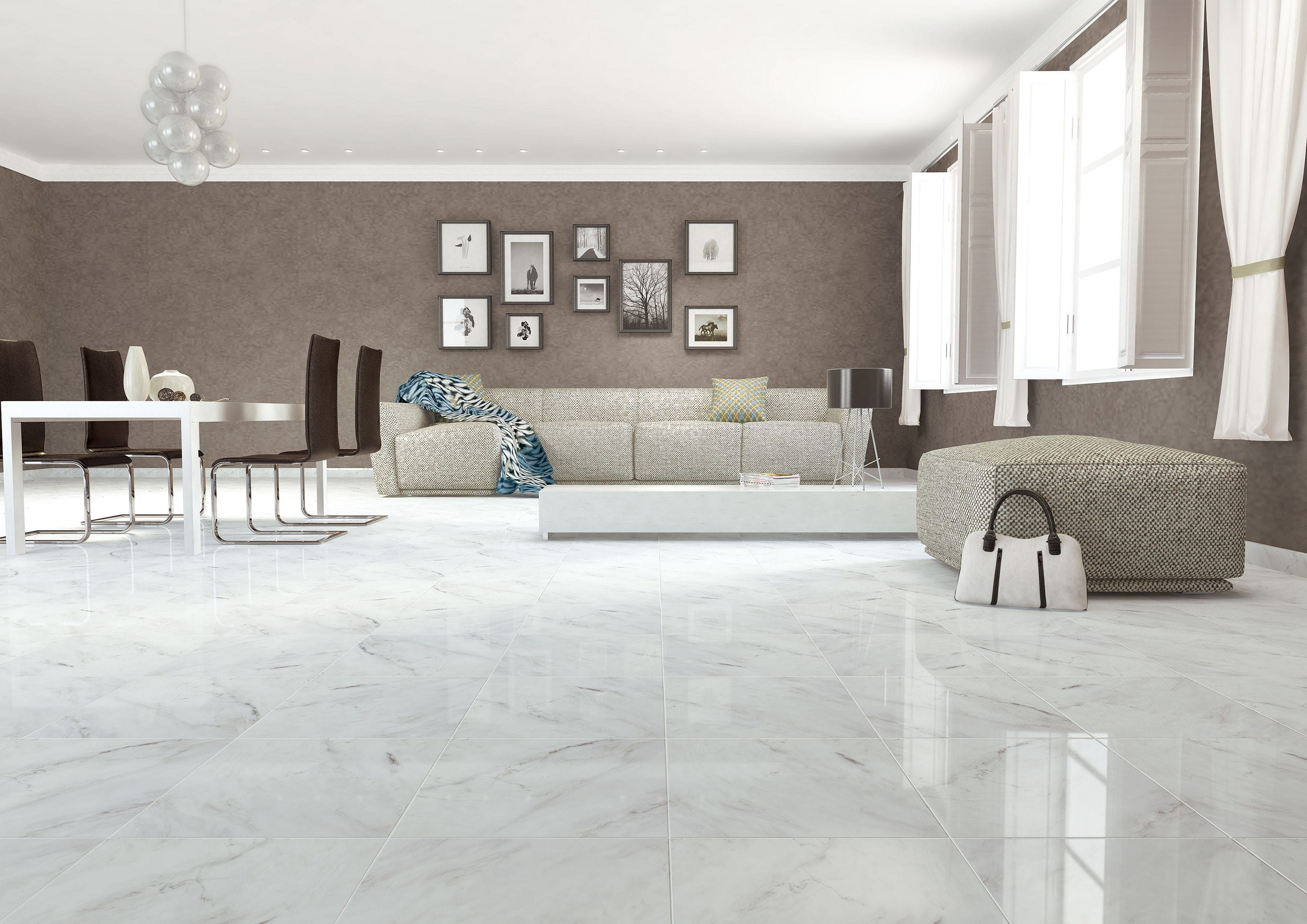 12 Amazing Living Room Design With Floor Granite Tile Ideas Tile