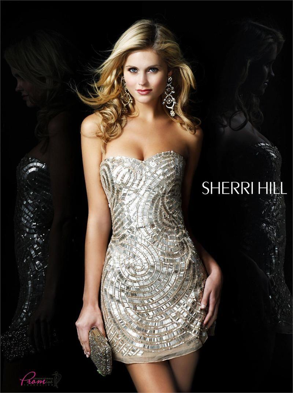 2b5e9bb9 Sherri Hill 2781 - #SherriHill #HomecomingDress #sequin | Homecoming ...
