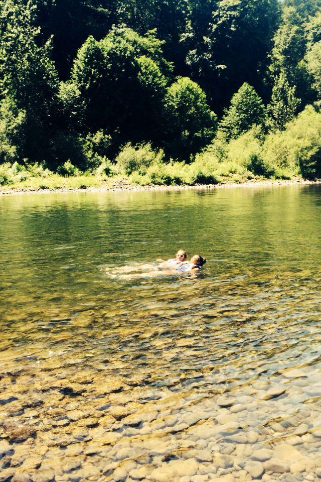 Safe Haven . Summer 2k15 . Clackamas River