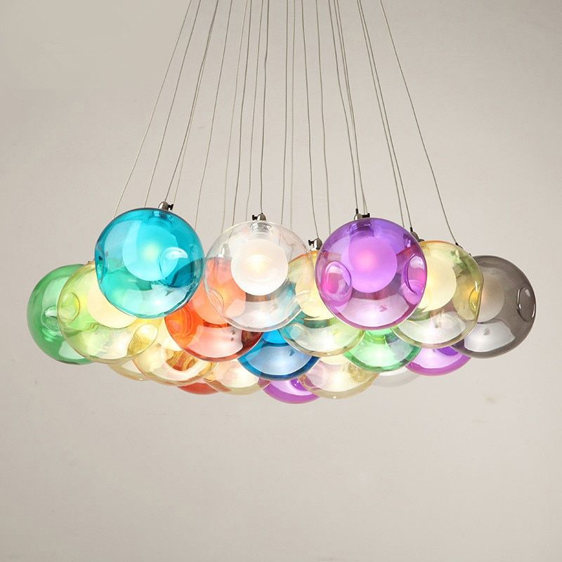 Cheap Pendant Lights Buy Directly From China Suppliers Creative Coloured Glass Pendant Light Free Combi Glass Pendant Light Pendant Light Pendant Ceiling Lamp