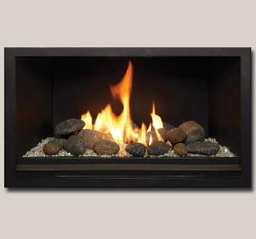 Gas Stone Fireplace gas fireplaces offer much more than traditional logs