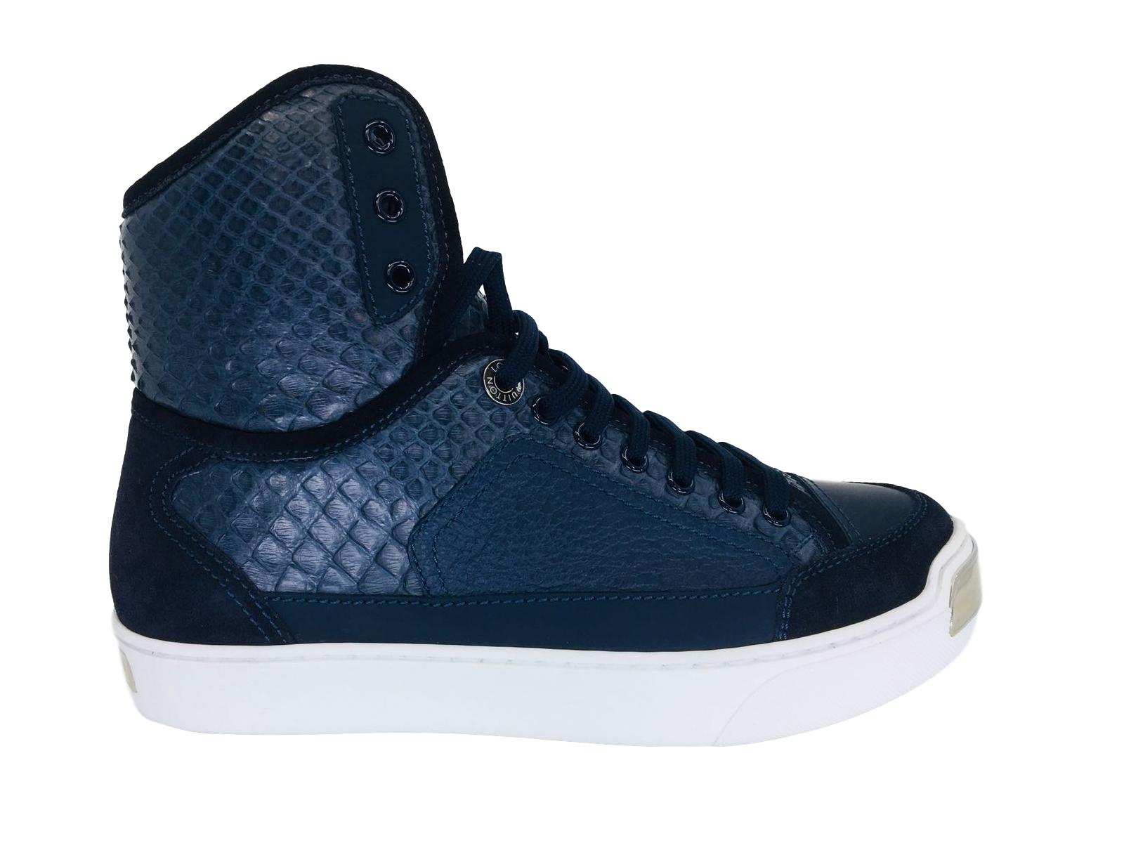 bafeaec37c9 On The Road Sneaker Boot Python Skin | Louis Vuitton Sneakers & Slip ...