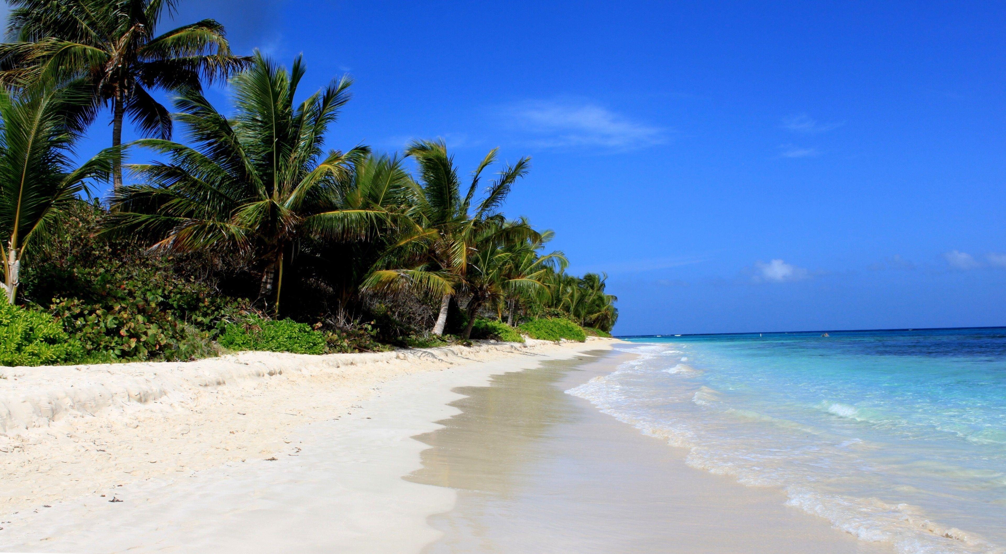 3840x2117 flamenco beach 4k high resolution picture