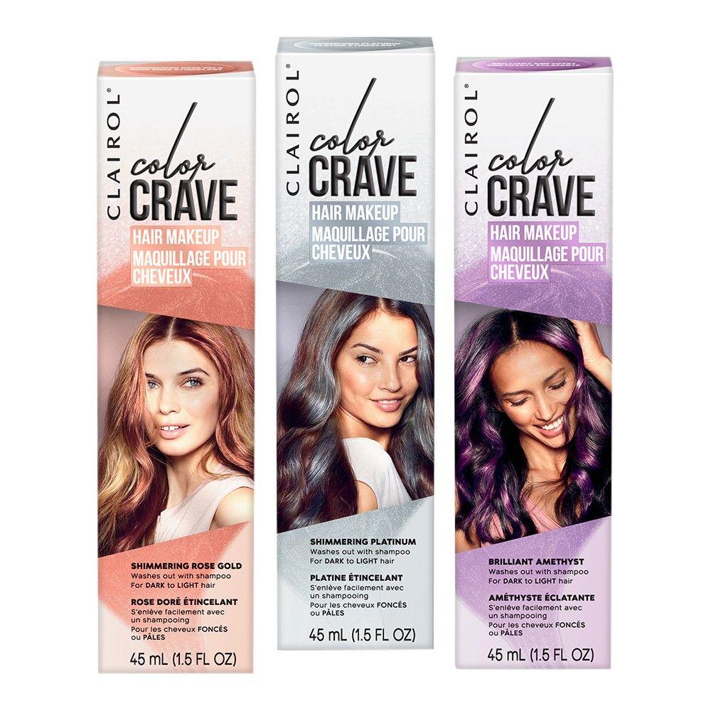 Clairol Color Crave Hair Makeup Bundle Pack Hair makeup