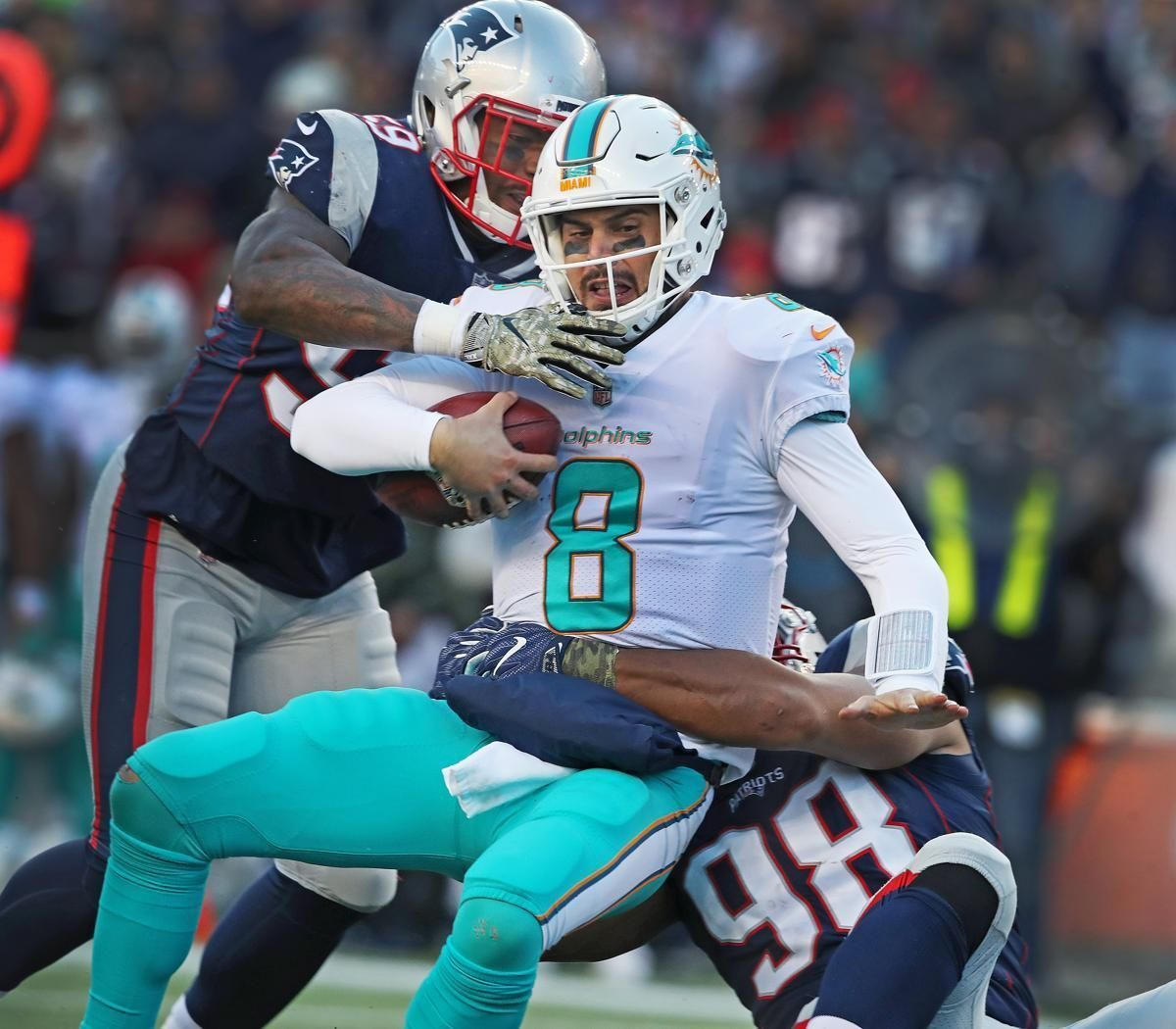 Takeaways from Patriots' sloppy victory over Dolphins