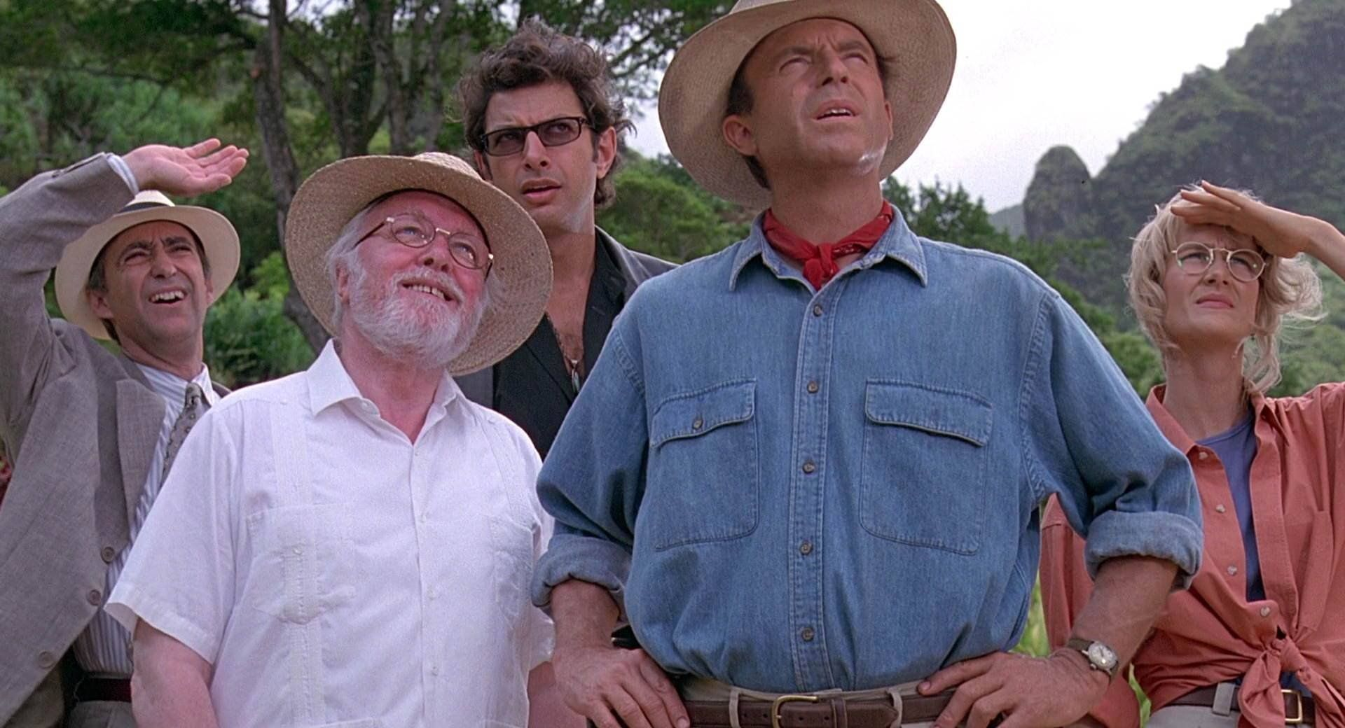 THEN AND NOW The cast of 'Jurassic Park' 25 years later