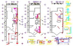 Sanitary detail drawing of house design draing | Cadbull | Drawings