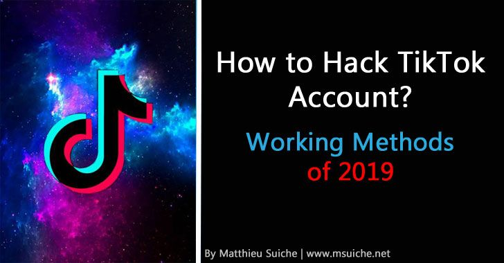 Learn best hacking methods to hack into a tiktok account