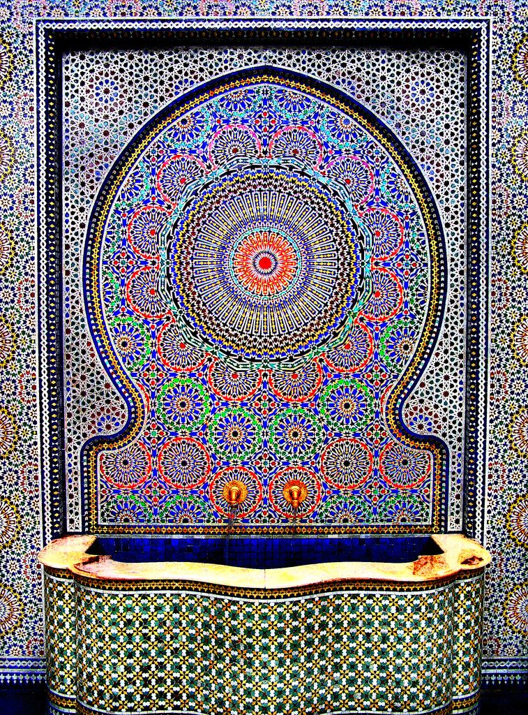 mosa que marocaine voyage voyage pinterest mosaique marocaine mosaique et maroc. Black Bedroom Furniture Sets. Home Design Ideas