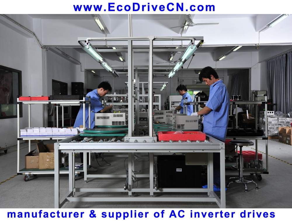 Production of AC inverter drives (frequency converters, VVVF drives, variable speed drives, VSD)