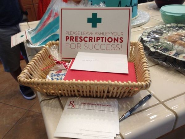 Prescriptions for Success at my Nursing Graduation Party! by Michelle Cisco Smith