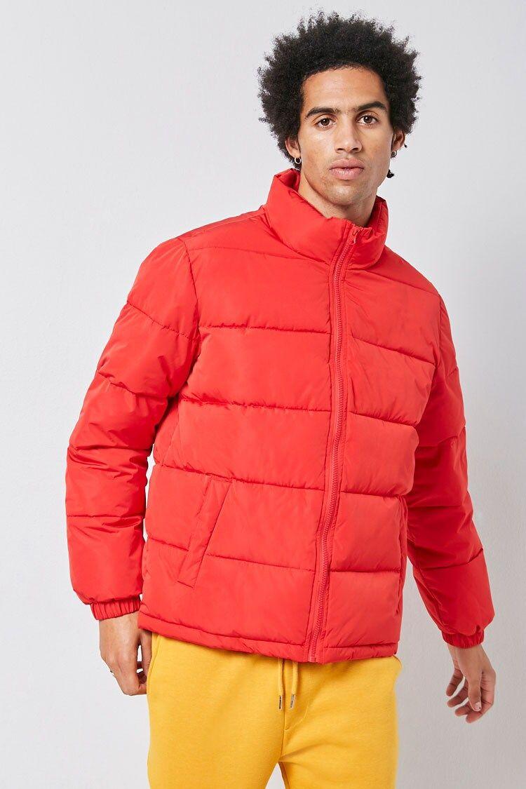 Zip Up Puffer Jacket Forever 21 Puffer Jackets Jackets Zip Ups [ 1125 x 750 Pixel ]