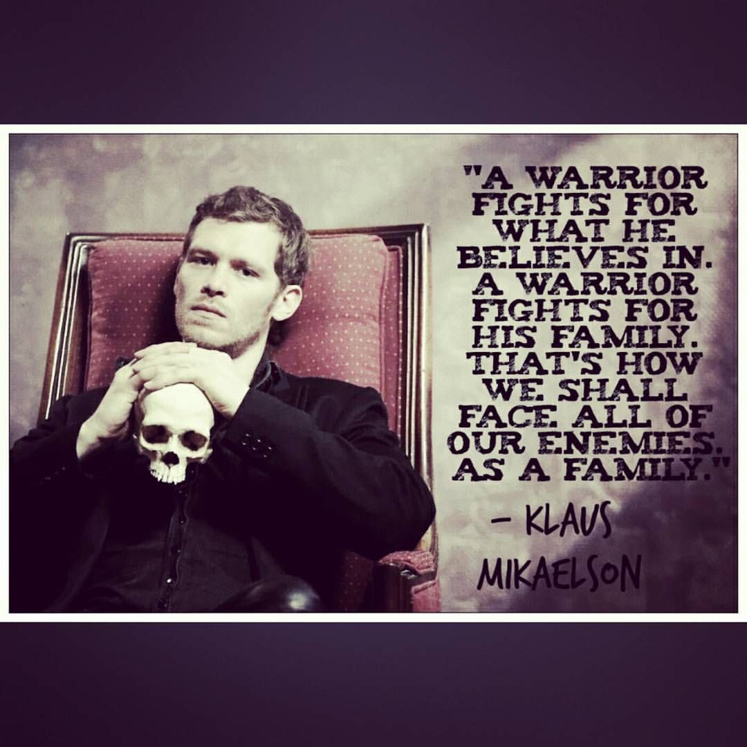 Klaus Mikaelson Quotes Tumblr_Nz3T58Z6Ge1Ujdexvo1_1280 1080×1080  Klaus Mikaelson