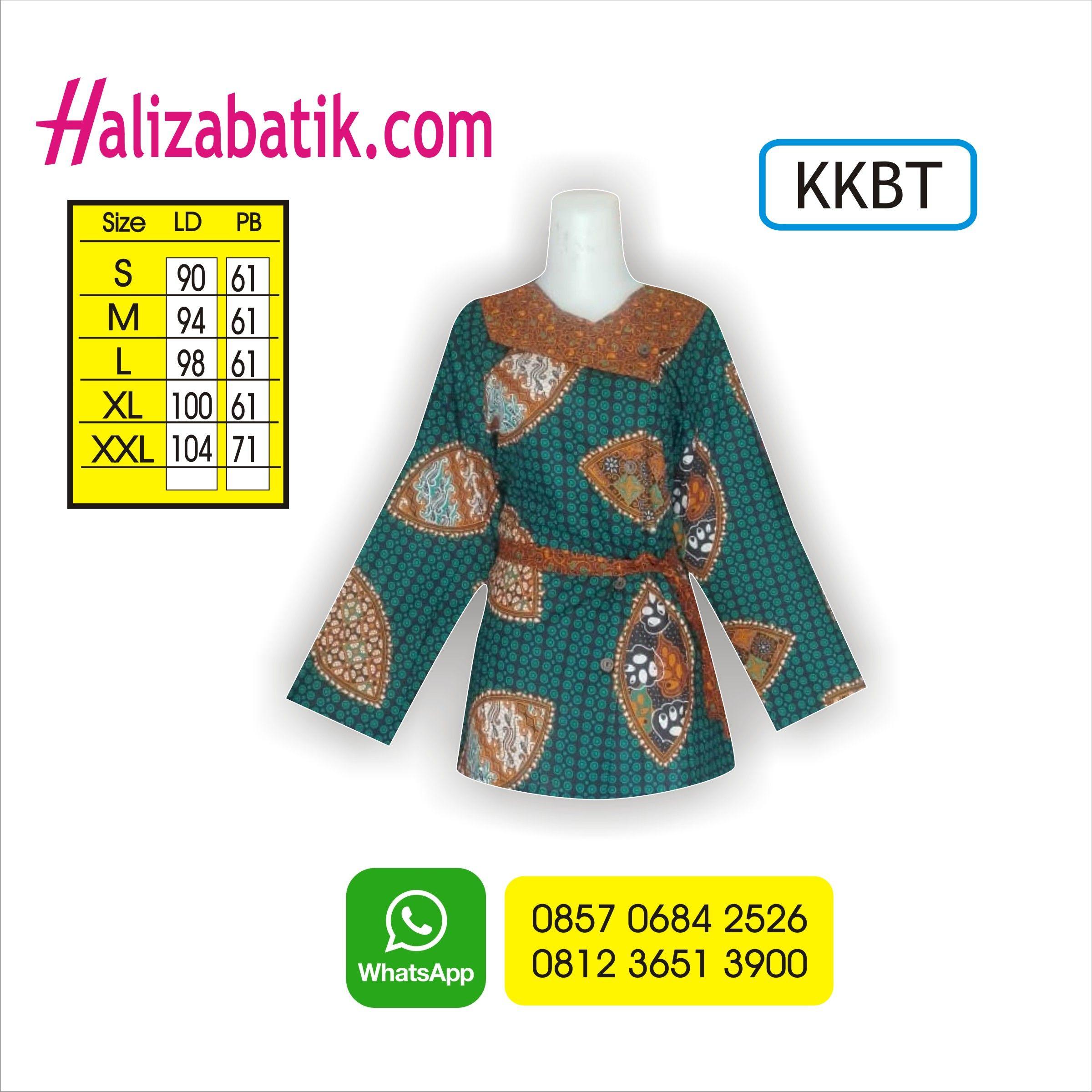 Pola Baju Kancing Samping