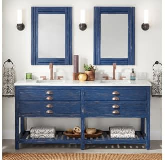 buy the signature hardware 442422 rustic navy blue direct