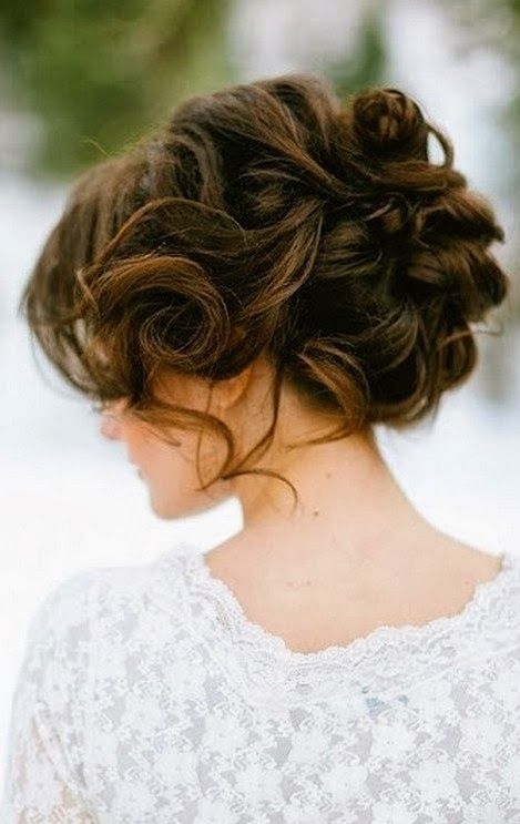Wedding Up Do | Medium Hair | Simply Elegant | http://simplyelegantforyou.com