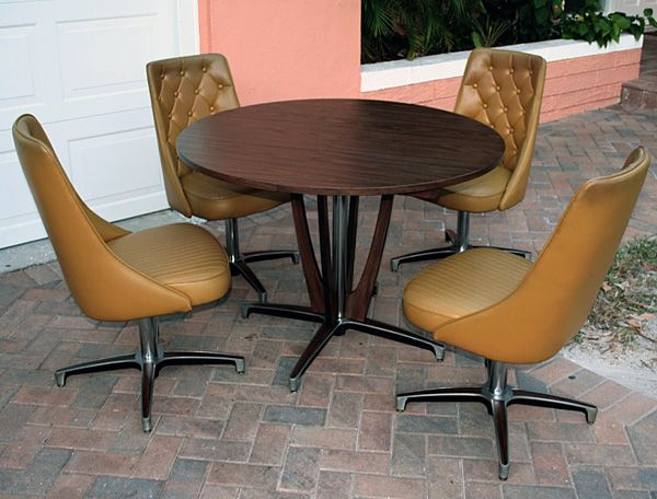 Chromcraft 1969 Vintage Dining Table 4 Chairs Kitchens Dining