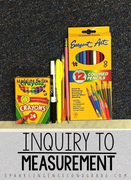 Introduce measurement using this measurement activity. This inquiry based activity has kids talking and thinking math with comparing three objects!