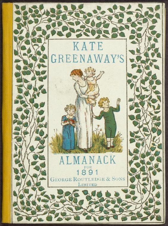 Kate Greenaway's Almanack for 1891 - KateGreenaway.London