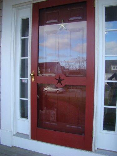 Gallery custom screen doors custom wooden screen storm for Custom storm doors