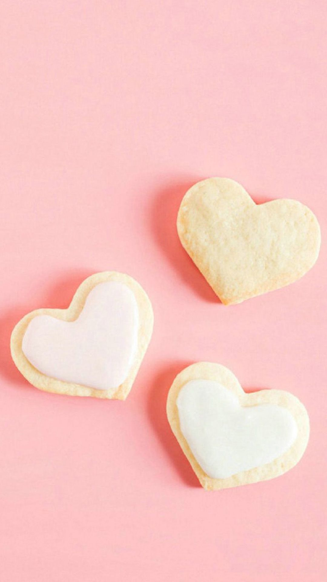 romance sweet love heart shape dessert iphone 6 plus wallpaper