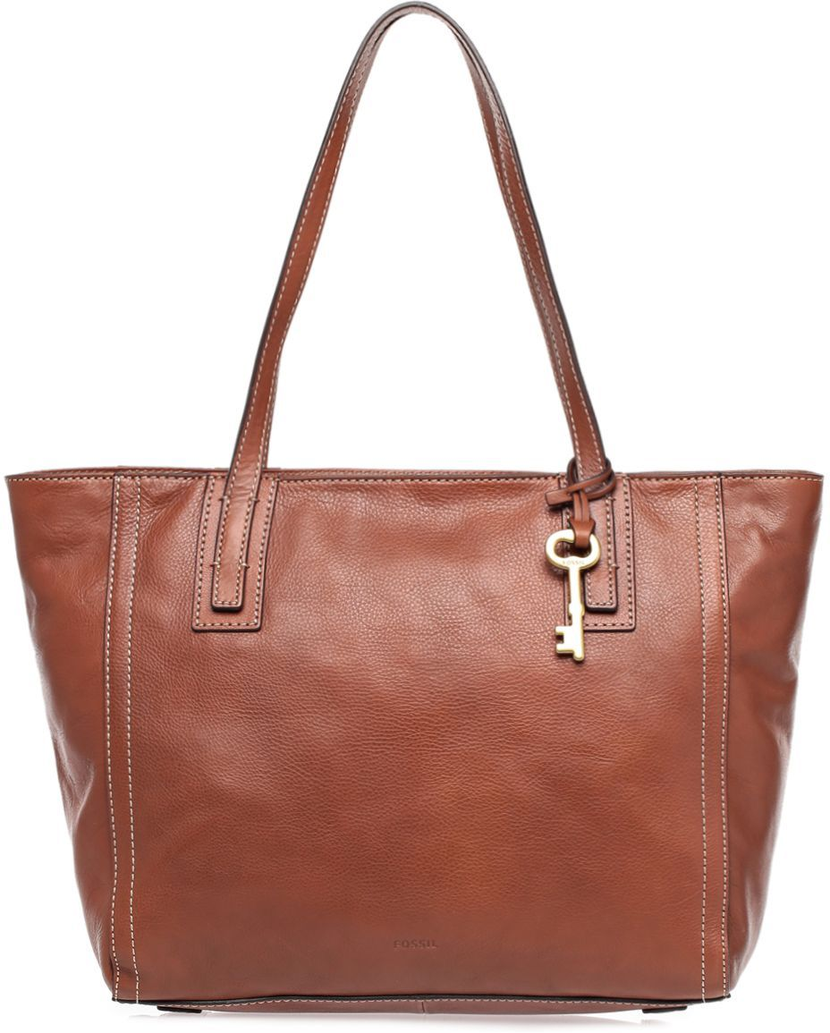 Buy Fossil ZB6844 Emma Smooth Glazed Tote Bag for Women - Leather
