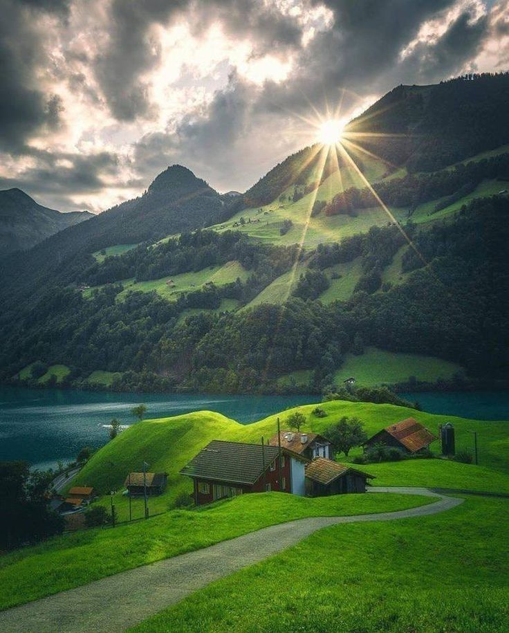 Signs Of Heaven Nature Pictures Of Beautiful Places Scenery