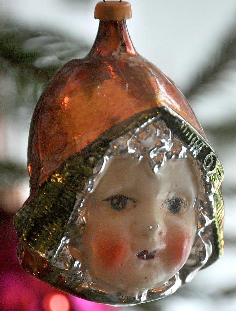 Pin von ilke üffink auf Antik Glas Christmas Ornaments /Face   Pinterest