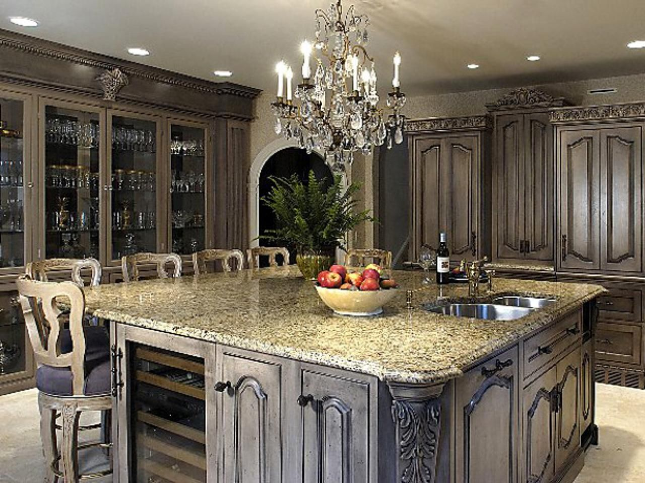 100 Kitchen Remodeling Sweepstakes Kitchen Trash Can Ideas Check More At Http Cacophono Antique Kitchen Cabinets Old World Kitchens Kitchen Cabinet Styles